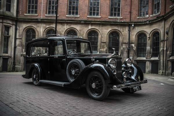 Vintage restored hearst in masons black