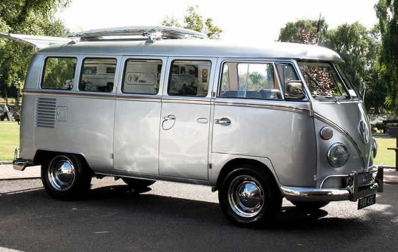 VW Camper Van Hearse