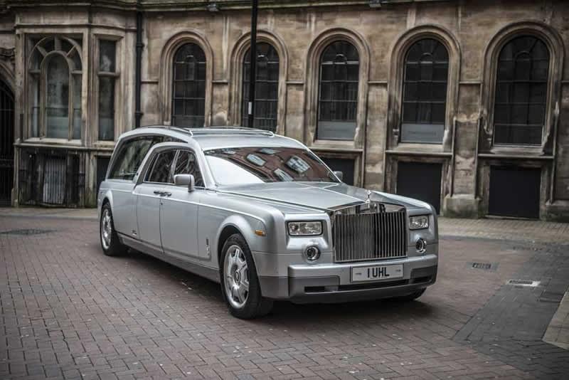 Rolls-Royce Phantom VII based hearses