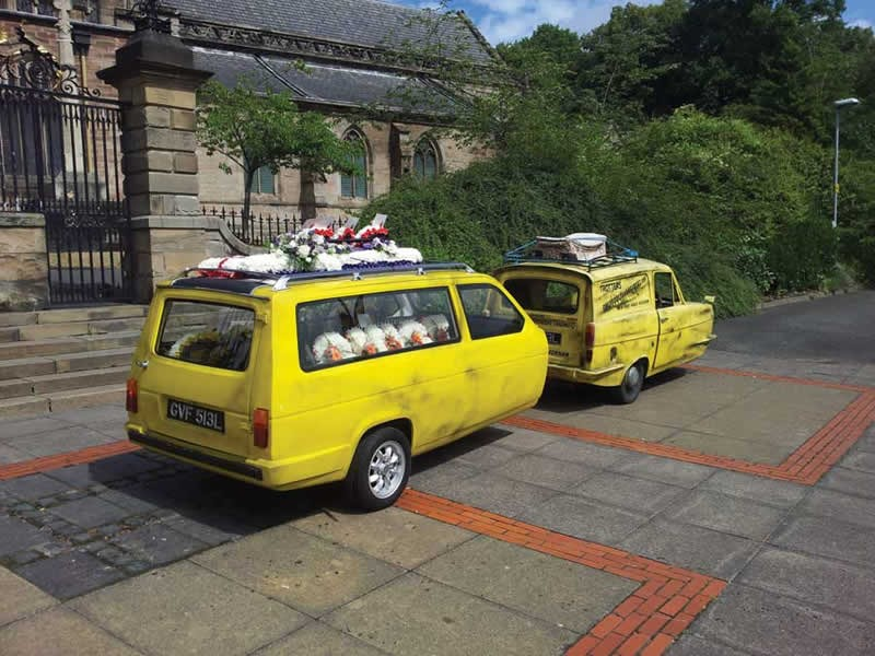 Only Fools & Horses trailer hearse.