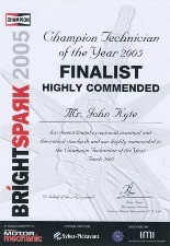 Bright Spark 2005