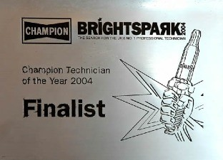 Bright Spark 2004 highly commended