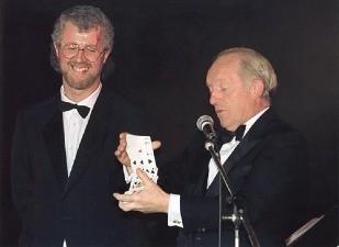 John with Paul Daniels