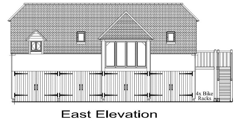 Large building approved outside of the domestic curtilage in the AONB