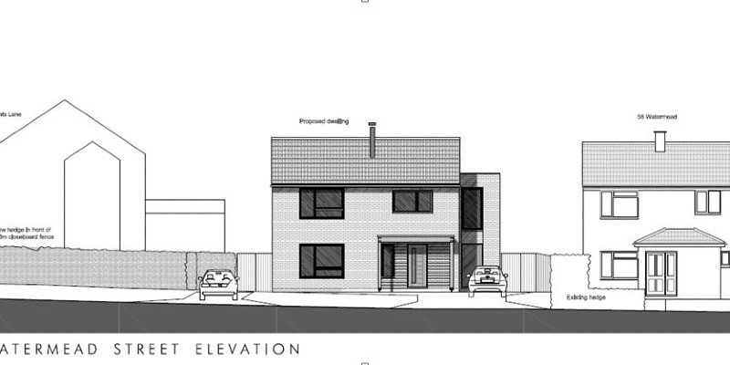 Infill dwelling approved on open space area in Somerset