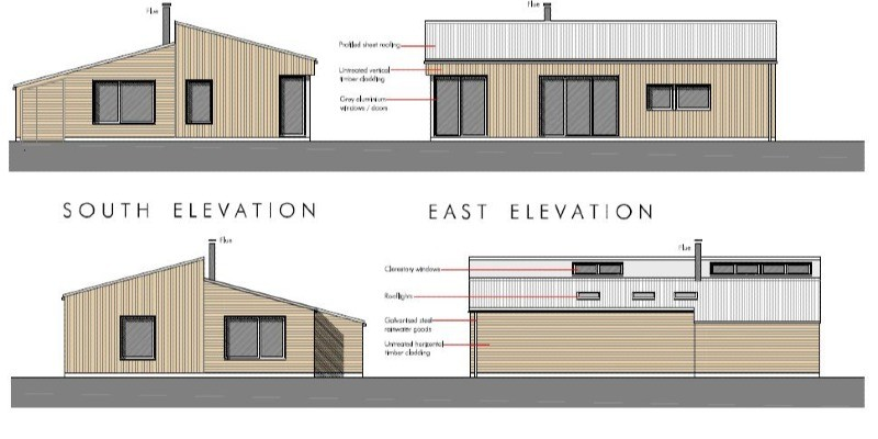 New build holiday accommodation permitted in Wiltshire