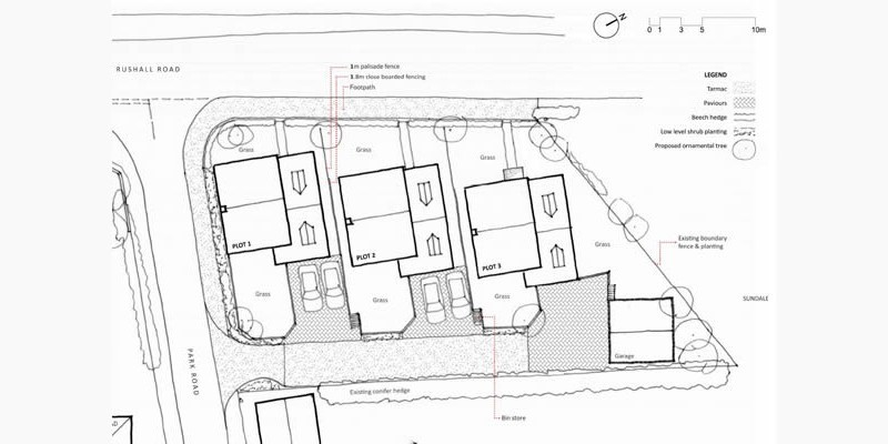 Reserved matters application for dwellings approved