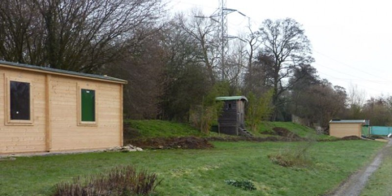 Retrospective consent granted for timber buildings