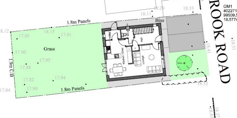 Dwelling approved in subdivided garden in Dorset