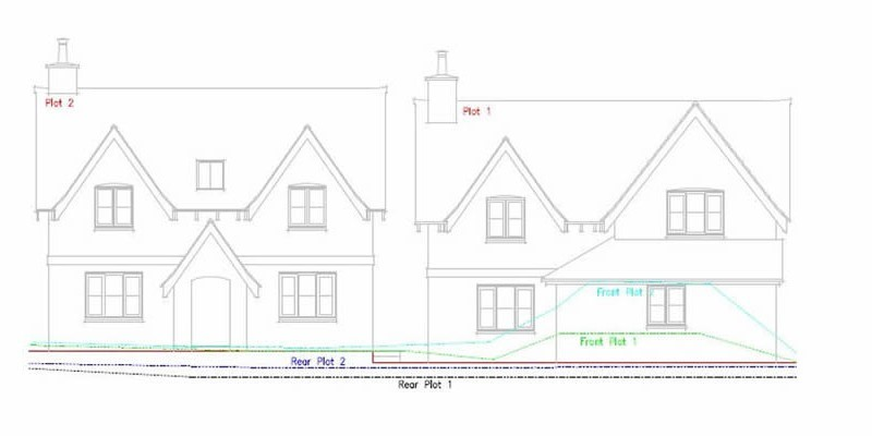 Two dwellings approved in sensitive landscape