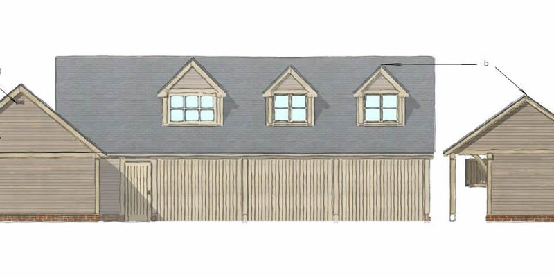 New equestrian and residential building permitted in the AONB