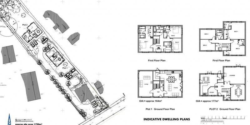 Outline planning permission approved for two dwellings in Wiltshire