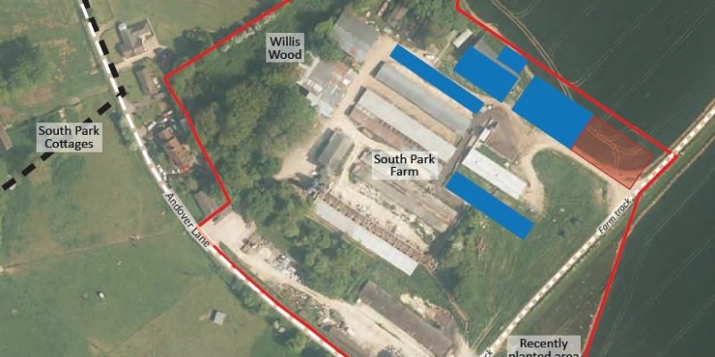 New agricultural building permitted at pig farm