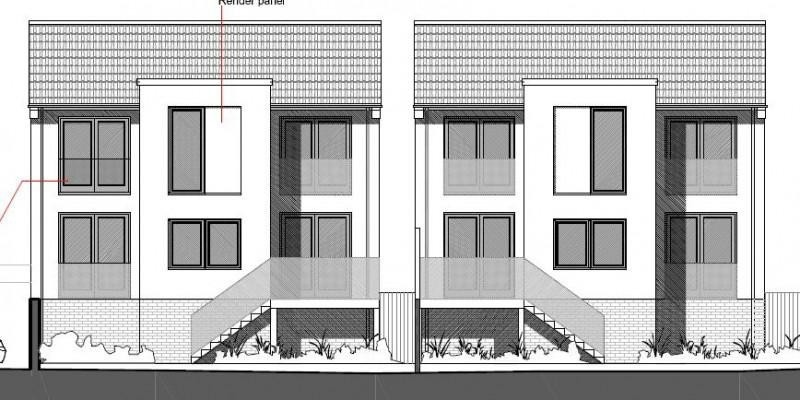 Two large 4 bedroom dwellings permitted in Dorset