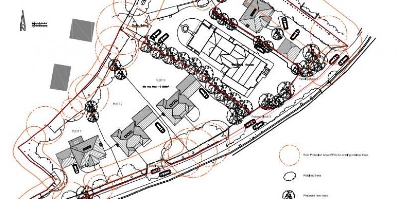 Four new dwellings permitted in Keynsham