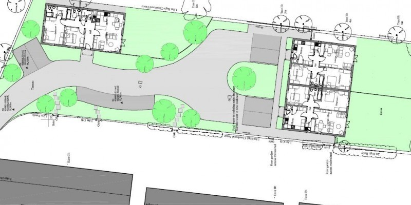 Three new houses permitted in Dorset