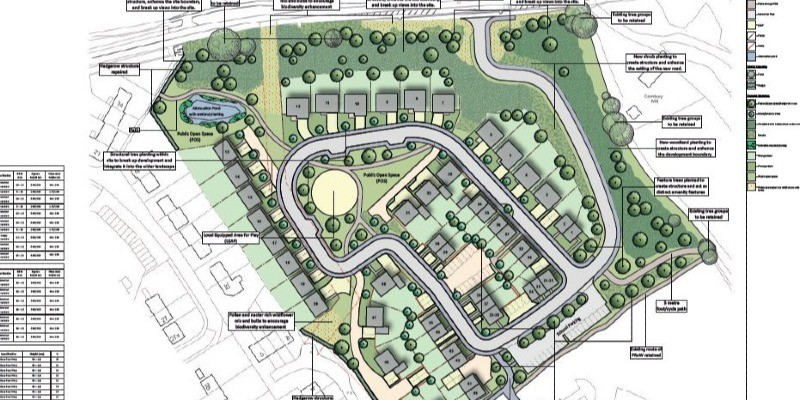 Outline planning permission granted for 50 houses in Wiltshire
