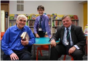 Visiting Trowbridge Library